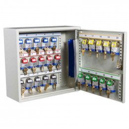 Key Secure KS25C Car Key Cabinet  for bunches of keys and transponders - open