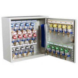 Key Secure KS25P Padlock Storage Cabinet for 25 Padlocks