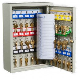 KeySecure KS30 Key Storage Wall Fixed Cabinet 30 Keys open