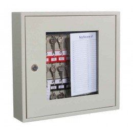 KeySecure KS30V Key View Window Cabinet 30 Keys - Key Cam Lock