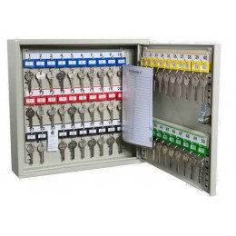 KeySecure KS50 Key Storage Wall Fixed Cabinet 50 Keys - open