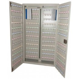 Key Secure KSE300V Vehicle Key storage cabinet 300 Hooks open