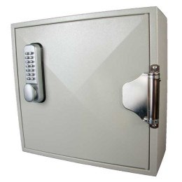 Key Secure 50 Hook Self Closing Key Cabinet Closed