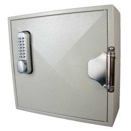 Key Secure 50 Hook Self Closing Key Cabinet Closed