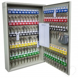 Key Secure KS100-EC-AUDIT Key Cabinet Electronic Combination 100 Keys - interior view