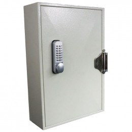 Key Secure 100 Hook Self Closing Key Cabinet Closed