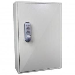KeySecure KS150-MD 150 Hook Mechanical Digital Key Cabinet - Door Closed