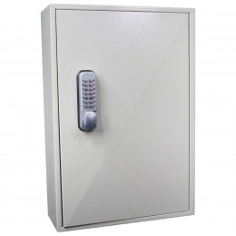 Key Secure KS200MD 200 Hook Mechanical Digital Key Cabinet - Door Closed