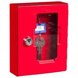 Emergency Key Box plus Hammer Chain - Keysecure KS1-H+C - Door Closed
