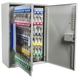 KeySecure KS250-MD 250 Key Push Button Locking Key Cabinet - open