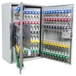 Key Secure KS300MD 300 Hook Mechanical Digital Key Cabinet - Door Open