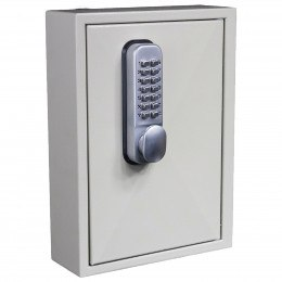 Key Secure KS30MD 30 Hook Mechanical Digital Key Cabinet - Door closede