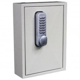 Key Secure KS30-MD 30 Hook Mechanical Digital Key Cabinet - Door closede