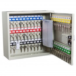 Key Secure KS50D Deep Key Cabinet 50 Hooks - Mechanical Digital Lock open