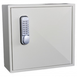 Key Secure KS50D Deep Mechanical Digital Key Cabinet 50 Keys - door closed