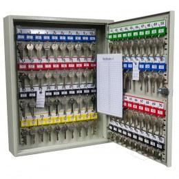 KeySecure KS80 Key Storage Wall Fixed Cabinet 80 Keys open