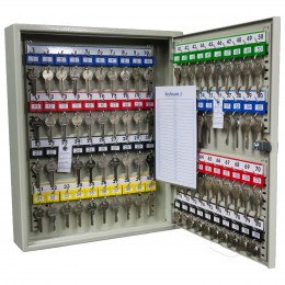 Key Secure KS80-EC-AUDIT Key Cabinet Electronic Combination 80 Keys with door open