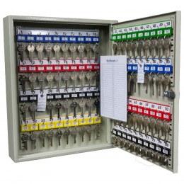 Keysecure KS80-MD 80 Hook Mechanical Digital Key Cabinet - Door open