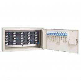 Keysecure KSE25PEG Key Tracking Secure Storage Cabinet door open
