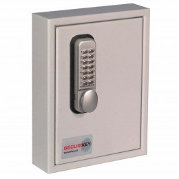 Securikey Key Vault KVP024 Digital Mechanical 24 Key Hooks