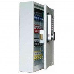 Securikey KVP050Z2200HBSLA Push Button 50 Hook Car Key Cabinet - door ajar