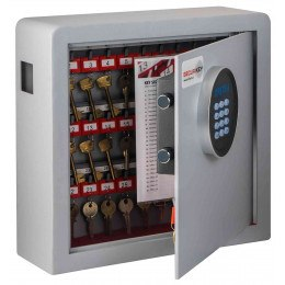 Securikey Electronic Key Storage & Key Deposit Safe 38 Keys - door ajar