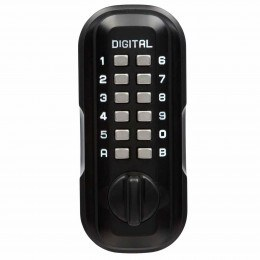 Lockey LKS500/SC Black Digital Large Outdoor Key Safe