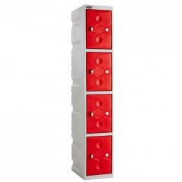 Probe UltraBox PLUS 4 Door Waterproof Plastic Locker