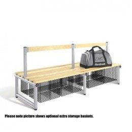 Double Bench Seat Ash Woodgrain Slats - Probe Type C