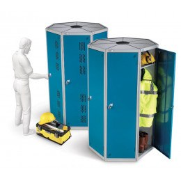 Probe PODBOX Space Saving 7 Users Clean & Dirty Lockers