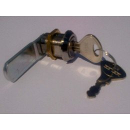 Probe Polycarbonate Door Key Lock - Type A5 with 2 Keys