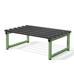 Double Bench Black Slats - Probe Type B