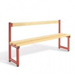 Single Bench Seat Ash Woodgrain Slats - Probe Type C