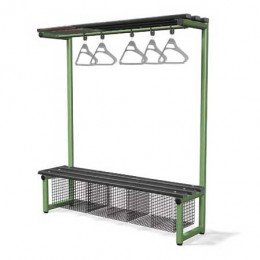 Single Bench with Hanging Rail Black - Probe Type G