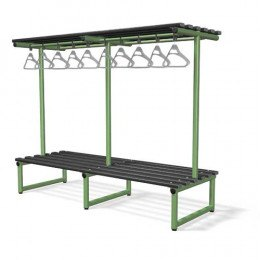 Double Bench with Hanging Rail Black - Probe Type G