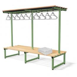 Double Bench with Hanging Rail Ash - Probe Type G