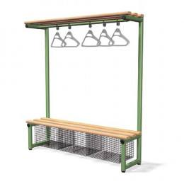 Single Bench with Hanging Rail Ash - Probe Type G