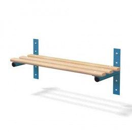 Wall Fixed Bench Ash Woodgrain Slats - Probe Type F