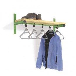 Wall Shelf with Hanging Rail Ash Slats - Probe Type E