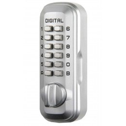 Lockey LKS500SC Satin Chrome Digital Large Key Safe
