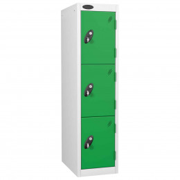 Infant Height School Storage Steel Locker - Probe 3 Door