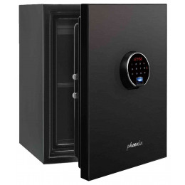 Phoenix Spectrum Plus LS6011FB Titanium Black Luxury Fire Security Safe door ajar