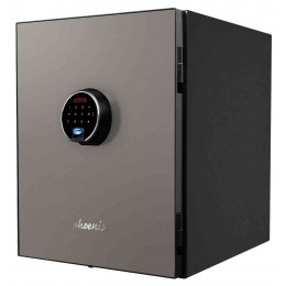 Phoenix Spectrum Plus LS6012FS Metallic Silver Luxury Fire Security Safe
