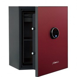Phoenix Spectrum Plus LS6012FR Burgundy 90 min Fire Safe
