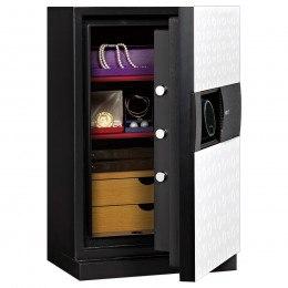 Phoenix Next LS7002FW Luxury White 60 mins Fire Security Safe - door ajar
