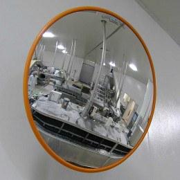 Hygiene Stainless Steel Convex Mirror - Securikey F Series 600mm