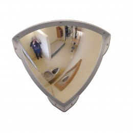Securikey Anti-Tamper Polycarbonate 1/4 Dome Convex Mirror 300mm