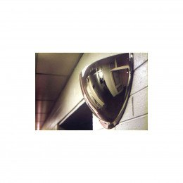 Securikey M18552H 1/2 Dome Convex Wall Mirror 900x450mm