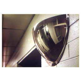 Securikey M18552H 1/2 Dome Convex Wall Mirror 900x450mm