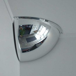 Securikey M18562H 1/4 Dome Convex Wall Mirror 450x450mm